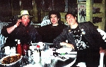 Joey Gaynor/Jon Paris/Steven Pearl somewhere in Southern California 1999 by the waitress